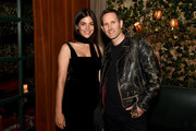 Julia Restoin Roitfeld and Tim Wheeler attend THE OUTNET celebrates Julia Restoin Roitfeld for Iris & Ink launch dinner at The Waverly Inn on October 15, 2019 in New York City.