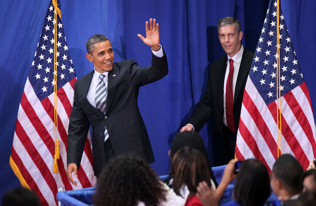 barack obamas speech back to Chicago — three months after leaving the white house, former president barack obama stepped back into the spotlight monday to encourage young people to become civically engaged while lamenting the increasing polarization of american politics and he did it without uttering the words: donald trump.