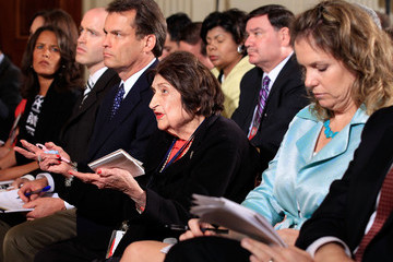 Helen Thomas Obama Holds Press Conference On BP Oil Spill