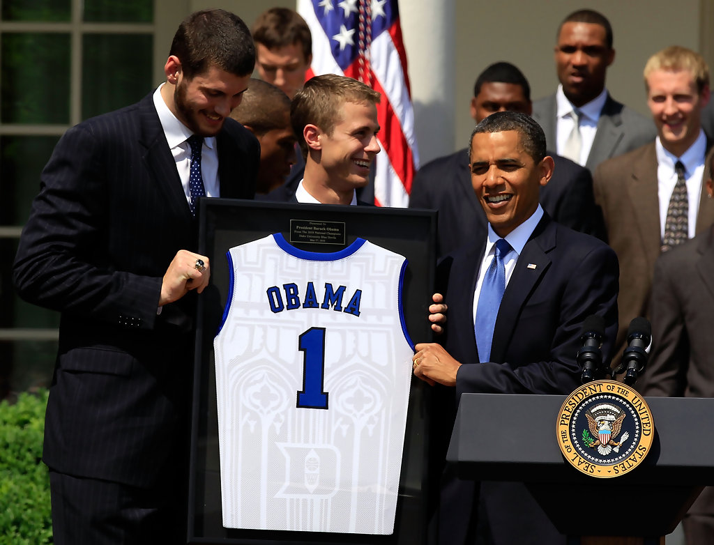 barack obama in obama hosts the ncaa mens basketball