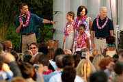 Joe Biden Sasha Obama Photos Photo