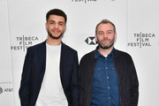 """Marcus Rutherford and Director Jamie Jones attend a screening of """"Obey"""" during the 2018 Tribeca Film Festival at Cinepolis Chelsea on April 22, 2018 in New York City."""