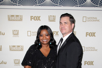 Octavia Spencer Tate Taylor FOX, FX and Hulu 2018 Golden Globe Awards After Party - Arrivals