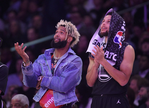 the latest 36969 e8d17 Odell Beckham Jr Photos Photos - NBA All-Star Game 2018 - Zimbio