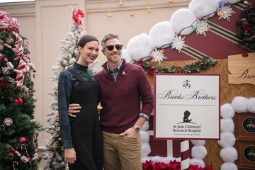 Odette Annable Brooks Brothers Hosts Annual Holiday Celebration In Los Angeles To Benefit St. Jude - Red Carpet