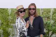 Kelly Framel and Zach Lynd attend the Official H&M Loves Coachella Party at the Parker Palm Springs on April 10, 2015 in Palm Springs, California.
