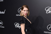 Léa Seydoux attends the Official Trophee Chopard Dinner Photocall as part of the 72nd Cannes International Film Festival on May 20, 2019 in Cannes, France.