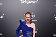 Co-President of Chopard Caroline Scheufele attends the Official Trophee Chopard Dinner Photocall as part of the 72nd Cannes International Film Festival on May 20, 2019 in Cannes, France.