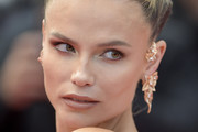 """Russian model Natasha Poly attends the screening of """"Oh Mercy! (Roubaix, une Lumiere)"""" during the 72nd annual Cannes Film Festival on May 22, 2019 in Cannes, France."""
