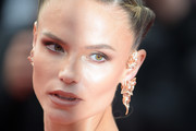 """Natasha Poly attends the screening of """"Oh Mercy! (Roubaix, une Lumiere)"""" during the 72nd annual Cannes Film Festival on May 22, 2019 in Cannes, France."""