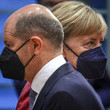 Olaf Scholz European Best Pictures Of The Day - September 01