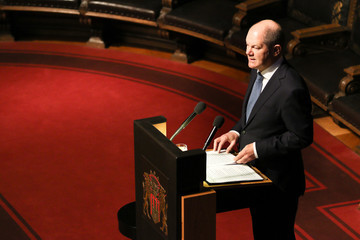 Olaf Scholz 'DER SPIEGEL' Celebrates 70th Anniversary In Hamburg