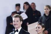 """Miles Teller and his girlfriend Keleigh Sperry attends the screening of """"Too Old To Die Young"""" during the 72nd annual Cannes Film Festival on May 17, 2019 in Cannes, France."""