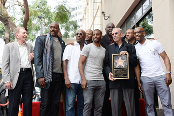 Olden Polynice Ralph Lawler Honored With Star on the Hollywood Walk of Fame