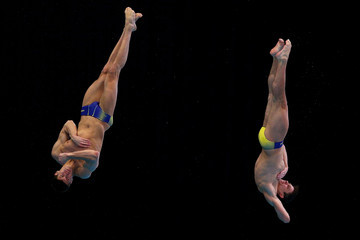 Oleksiy Prygorov FINA/Midea Diving World Series: Day One