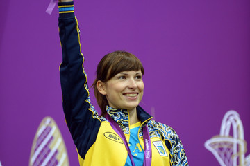 Olena Kostevych Olympics Day 2 - Shooting