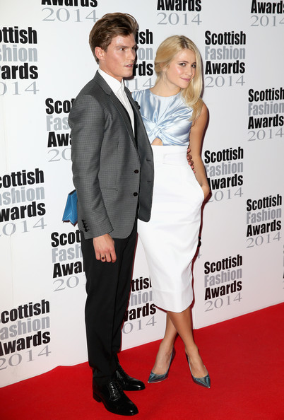 Arrivals at the Scottish Fashion Awards