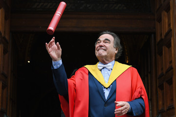 Oliver Stone Film Director Oliver Stone Receives Honorary Degree From Edinburgh