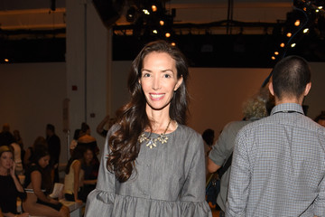 Olivia Chantecaille Bibhu Mohapatra - Front Row - Spring 2016 New York Fashion Week: The Shows