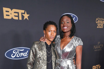 Olivia Charmaine Morris BET Presents The 51st NAACP Image Awards - Red Carpet