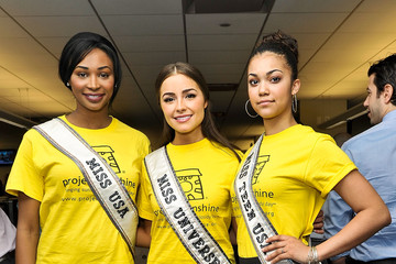 Olivia Culpo Nana Meriwether Commissions for Charity Event in NYC