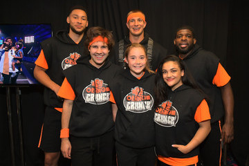 Olivia Moultrie Nickelodeon Kids' Choice Sports 2019 - Green Room