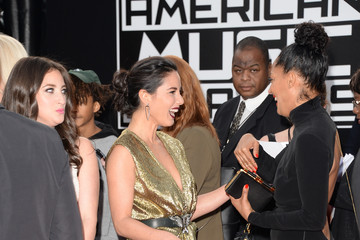Olivia Munn Arrivals at the American Music Awards — Part 3