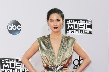 Olivia Munn Arrivals at the American Music Awards — Part 2