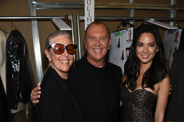 Olivia Munn Michael Kors Spring 2015 Fashion Show - Backstage