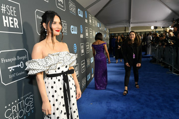 Olivia Munn The 24th Annual Critics' Choice Awards - Red Carpet