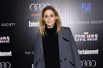 Olivia Palermo The Cinema Society With Audi & FIJI Host a Screening of Marvel's 'Captain America: Civil War'- Arrivals