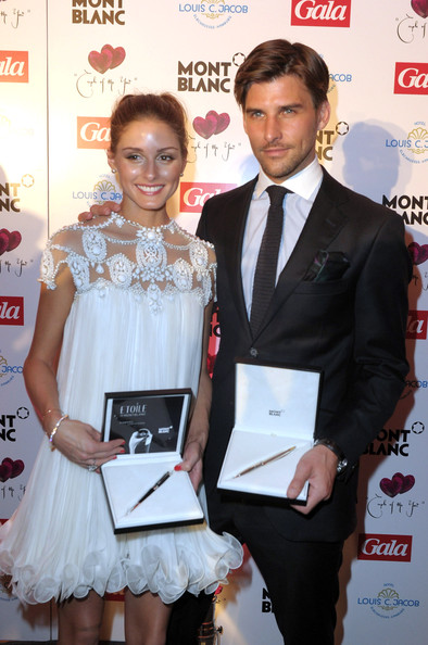 Olivia Palermo Olivia Palermo (L) and Johannes Huebl (R) attend the Couple Of The Year event on April 11, 2011 in Hamburg, Germany.