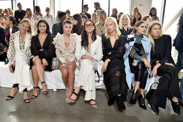 Olivia Palermo Jessica Hart Zimmermann - Front Row - September 2018 - New York Fashion Week: The Shows