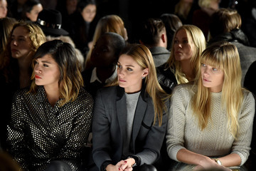 Olivia Palermo Jessica Hart Zimmermann - Front Row - Mercedes-Benz Fashion Week Fall 2015