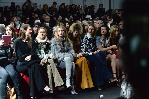 Diane Von Furstenberg - Front Row - Mercedes-Benz Fashion Week Fall 2015