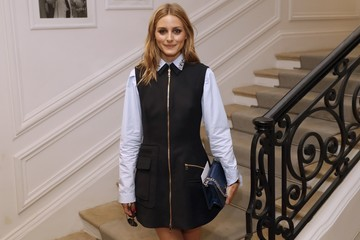 Olivia Palermo Christian Dior : Front Row - Paris Fashion Week - Haute Couture Fall/Winter 2016-2017