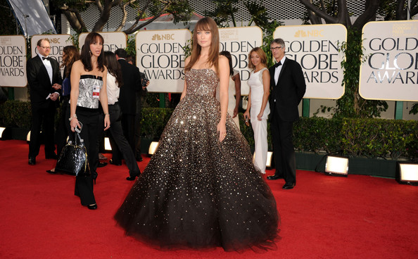 Olivia Wilde Actress Olivia Wilde arrives at the 68th Annual Golden Globe Awards held at The Beverly Hilton hotel on January 16, 2011 in Beverly Hills, California.