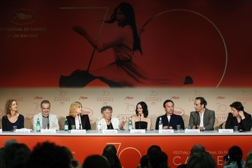 Olivier Assayas 'Based on a True Story' Press Conference - The 70th Annual Cannes Film Festival
