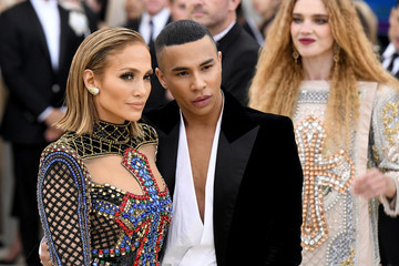 Olivier Rousteing Heavenly Bodies: Fashion & The Catholic Imagination Costume Institute Gala - Arrivals