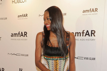 Oluchi Onweagba amfAR New York Gala To Kick Off Fall 2012 Fashion Week - Arrivals