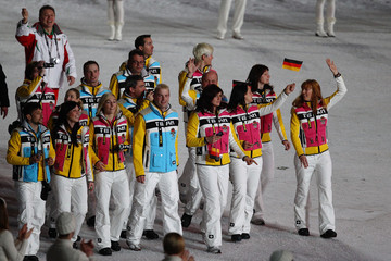 Anni Friesinger-Postma Olympics - Closing Ceremony