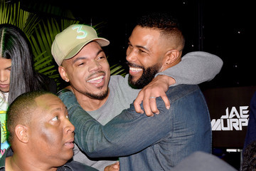 Omari Hardwick Chance the Rapper BACARDI Brings Rum Room to Chicago with Special Guest Omari Hardwick