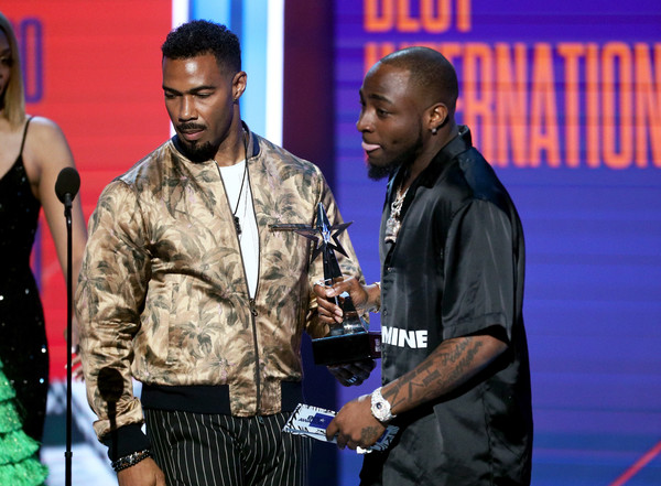 Omari Hardwick and Davido Photos Photos - 2018 BET Awards