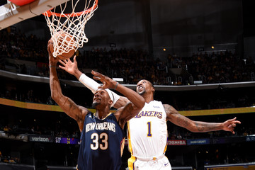 Omer Asik New Orleans Pelicans v Los Angeles Lakers