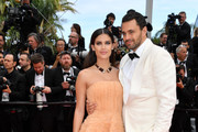 "Sara Sampaio and Jamie Redknapp attend the screening of ""Once Upon A Time In Hollywood"" during the 72nd annual Cannes Film Festival on May 21, 2019 in Cannes, France."