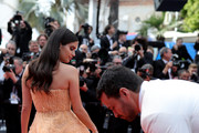 "Sara Sampaio attends the screening of ""Once Upon A Time In Hollywood"" during the 72nd annual Cannes Film Festival on May 21, 2019 in Cannes, France."