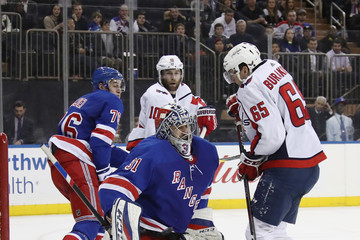 Ondrej Pavelec Washington Capitals v New York Rangers