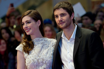 "Anne Hathaway Jim Sturgess ""One Day"" European Film Premiere - Outside Arrivals"