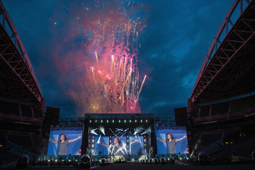 One Direction One Direction Performs at CenturyLink Field