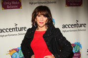 Andrea Martin walks the red carpet at the 10th Anniversary celebration of Only Make Believe at the Shubert Theatre on November 2, 2009 in New York City.